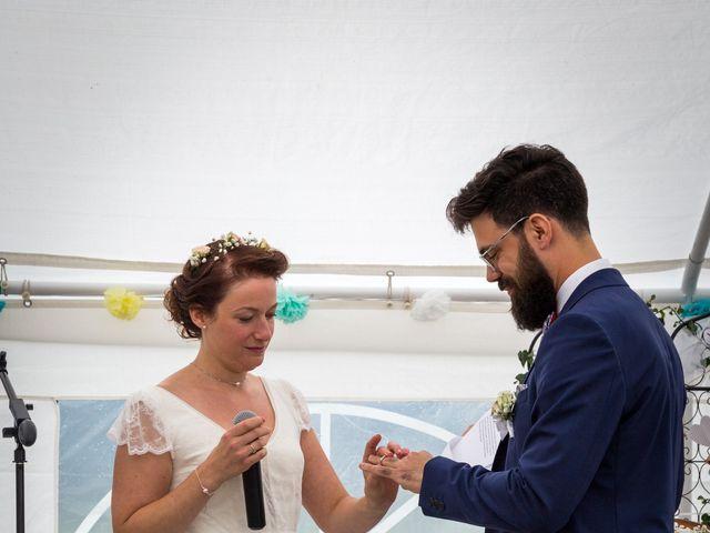 Le mariage de Simon et Aurélie à Soeurdres, Maine et Loire 19