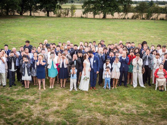Le mariage de Simon et Aurélie à Soeurdres, Maine et Loire 21