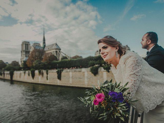 Le mariage de Perle et Sam à Paris, Paris 18