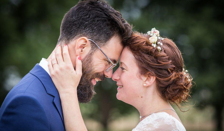 Le mariage de Simon et Aurélie à Soeurdres, Maine et Loire