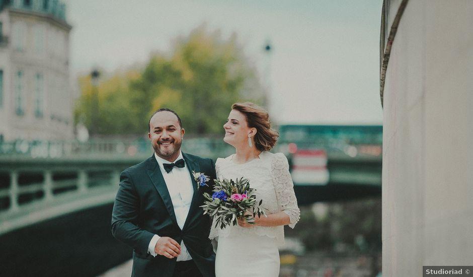 Le mariage de Perle et Sam à Paris, Paris