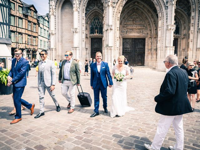 Le mariage de Joshua et Lea à Rouen, Seine-Maritime 13