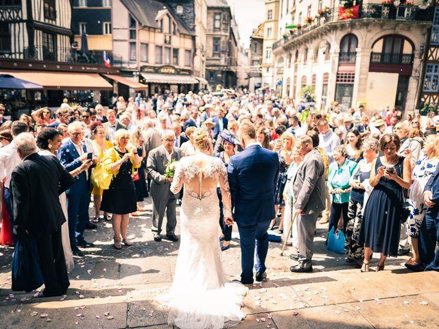 Le mariage de Joshua et Lea à Rouen, Seine-Maritime 21