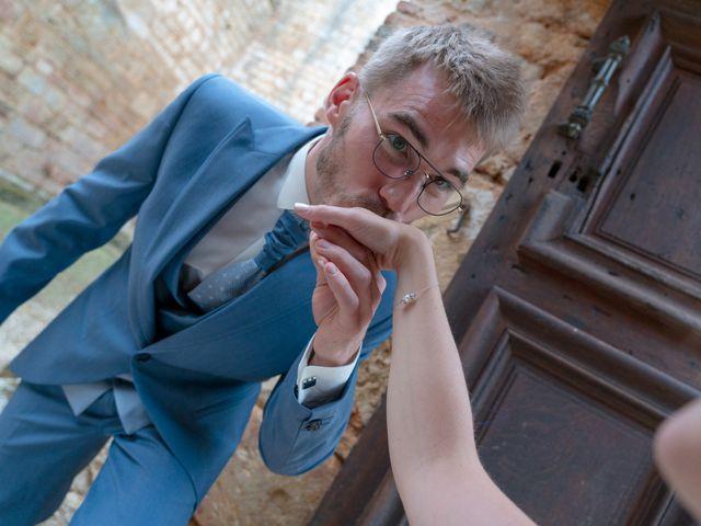Le mariage de Benjamin et Mélanie à Vouillé, Vienne 5