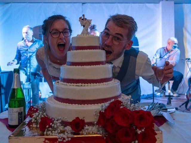 Le mariage de Benjamin et Mélanie à Vouillé, Vienne 29