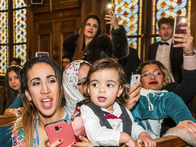 Le mariage de Zacharia et Kimberley à Paris, Paris 5