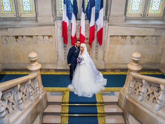 Le mariage de Zacharia et Kimberley à Paris, Paris 11
