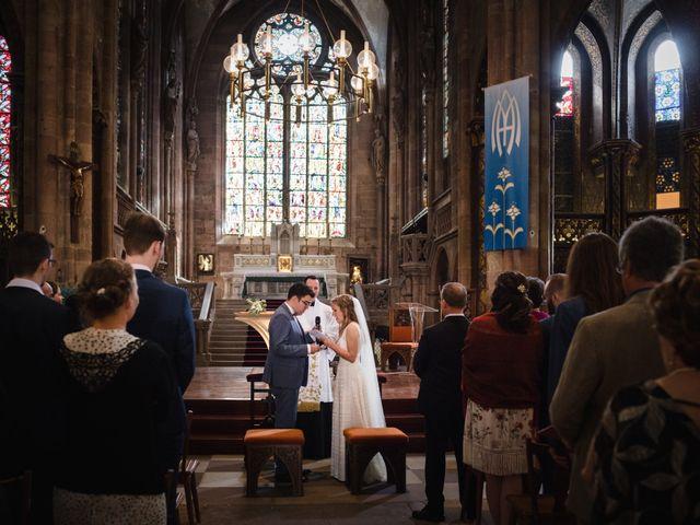 Le mariage de Thibaut et Dominique à Sélestat, Bas Rhin 10