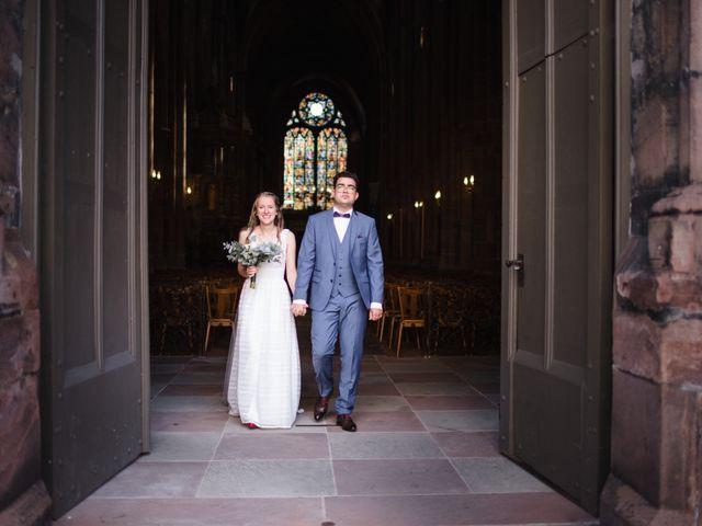 Le mariage de Thibaut et Dominique à Sélestat, Bas Rhin 11