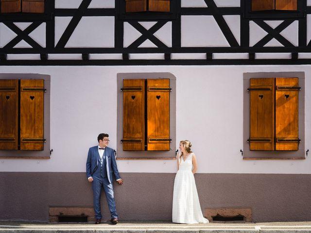 Le mariage de Thibaut et Dominique à Sélestat, Bas Rhin 22