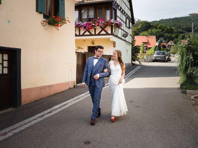 Le mariage de Thibaut et Dominique à Sélestat, Bas Rhin 21