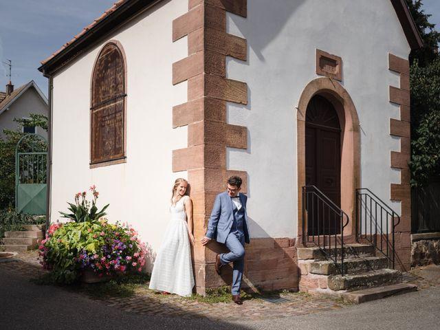Le mariage de Thibaut et Dominique à Sélestat, Bas Rhin 2