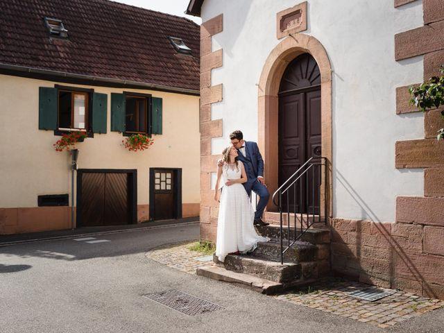 Le mariage de Thibaut et Dominique à Sélestat, Bas Rhin 19
