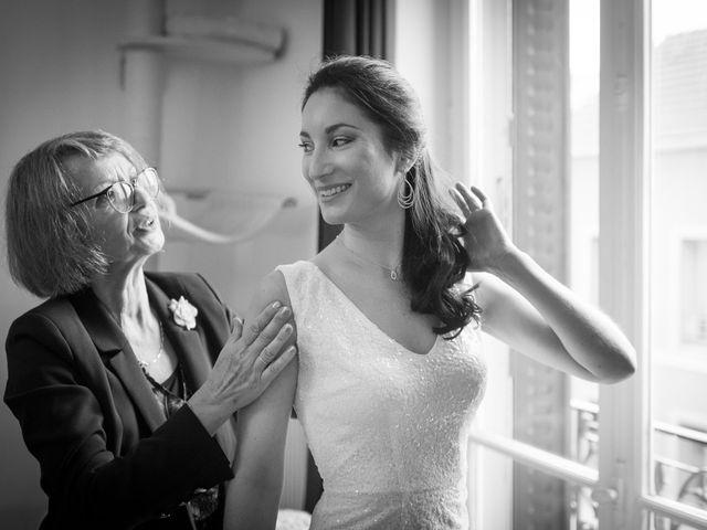 Le mariage de San et Cécile à Paris, Paris 6