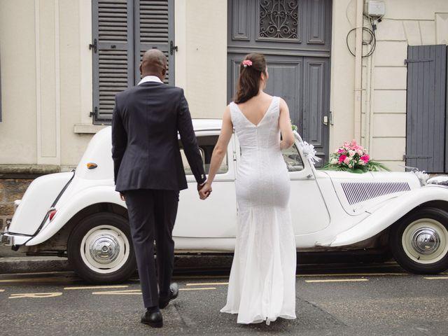 Le mariage de San et Cécile à Paris, Paris 9