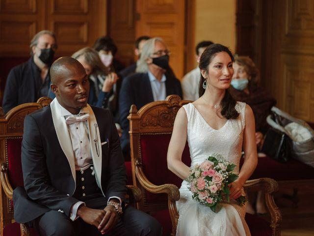Le mariage de San et Cécile à Paris, Paris 11