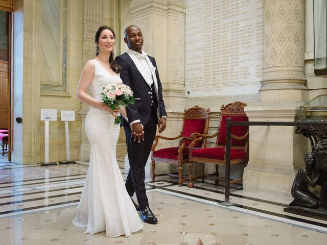 Le mariage de San et Cécile à Paris, Paris 13