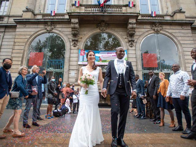 Le mariage de San et Cécile à Paris, Paris 14