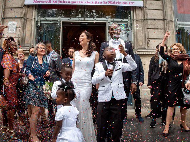 Le mariage de San et Cécile à Paris, Paris 15