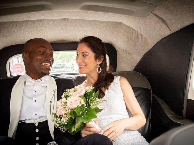 Le mariage de San et Cécile à Paris, Paris 16