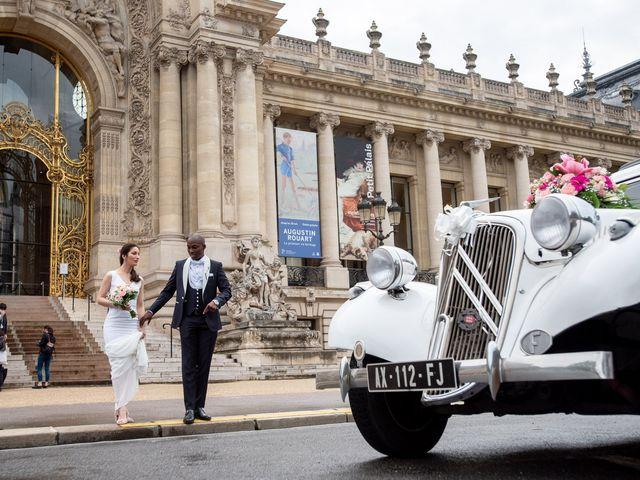 Le mariage de San et Cécile à Paris, Paris 19
