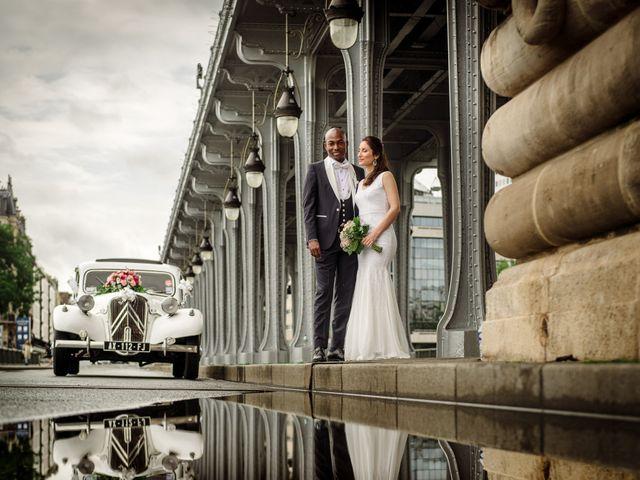 Le mariage de San et Cécile à Paris, Paris 21