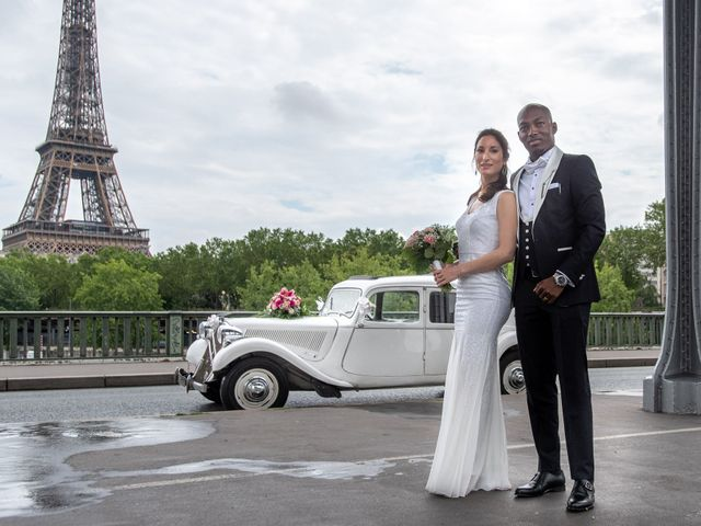 Le mariage de San et Cécile à Paris, Paris 20