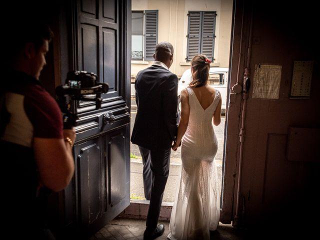 Le mariage de San et Cécile à Paris, Paris 8