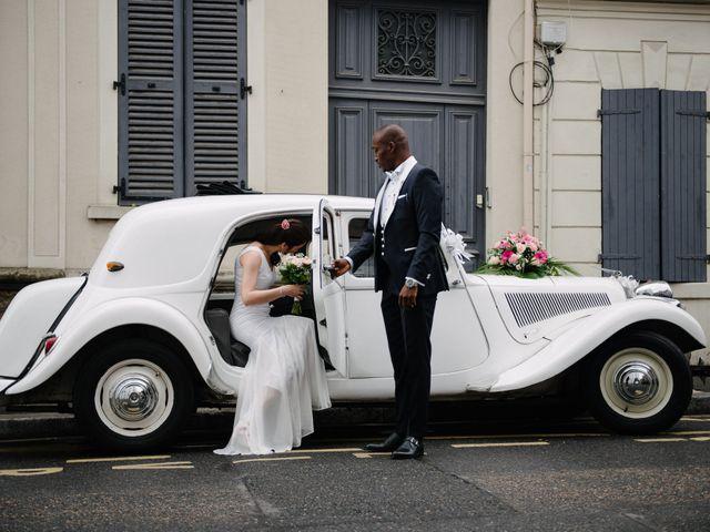 Le mariage de San et Cécile à Paris, Paris 10
