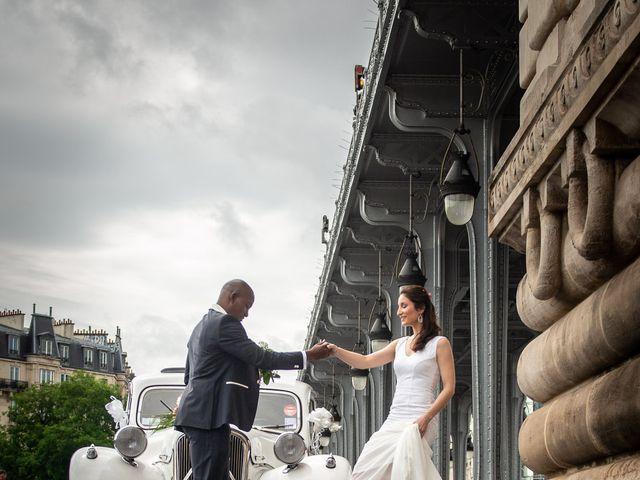 Le mariage de San et Cécile à Paris, Paris 22