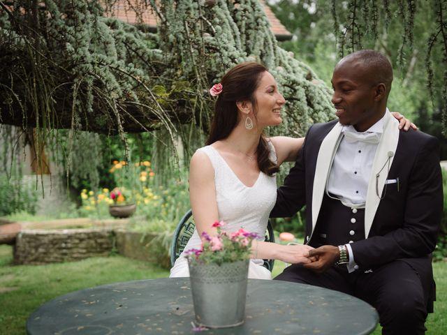 Le mariage de San et Cécile à Paris, Paris 25
