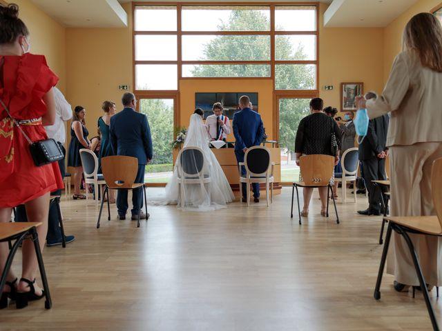 Le mariage de Ludovic et Milène à Le Thuit-Signol, Eure 28