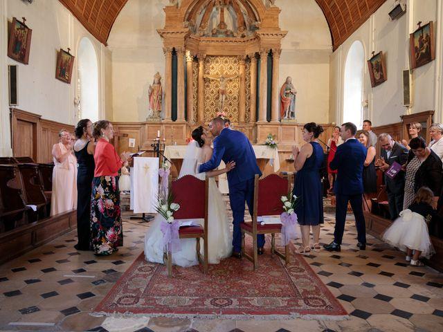 Le mariage de Ludovic et Milène à Le Thuit-Signol, Eure 41