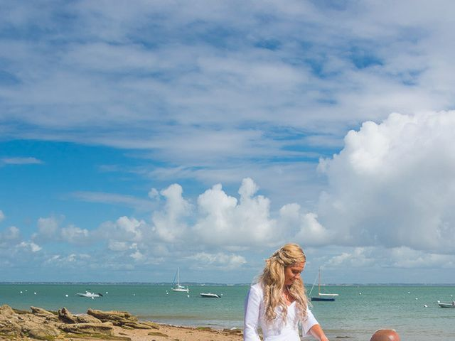 Le mariage de Wilfried et Jessica à Noirmoutier-en-l'Île, Vendée 44