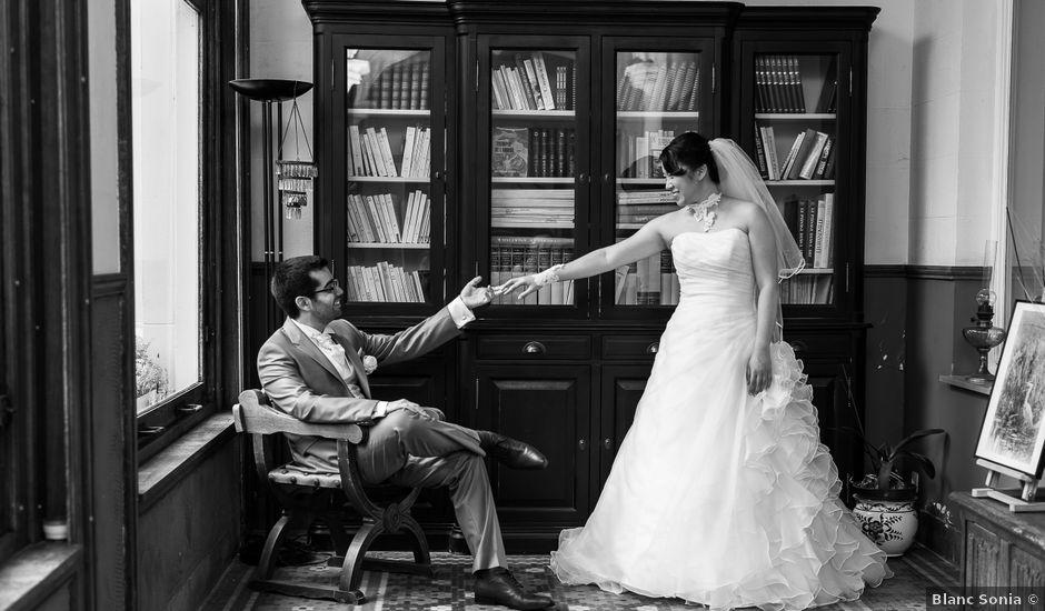 Le mariage de Benjamin et Cécile à Marcq-en-Baroeul, Nord