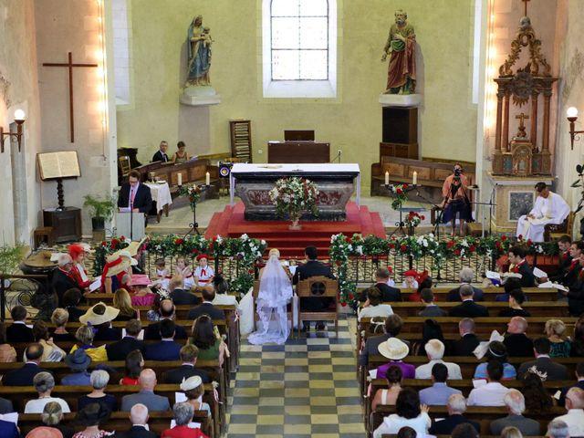 Le mariage de Charles et Viane à Champtocé-sur-Loire, Maine et Loire 10