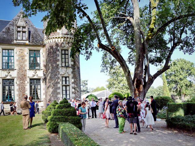 Le mariage de Charles et Viane à Champtocé-sur-Loire, Maine et Loire 22