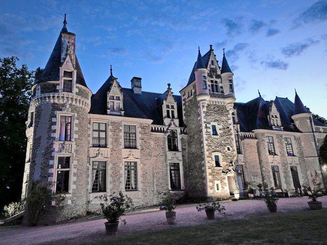 Le mariage de Charles et Viane à Champtocé-sur-Loire, Maine et Loire 25