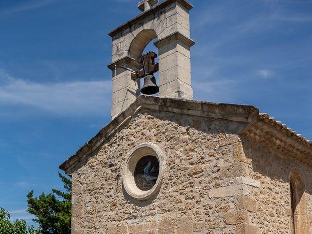 Le mariage de Tom et Marie Cécile à Sainte-Cécile-les-Vignes, Vaucluse 10