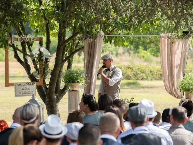 Le mariage de Tom et Marie Cécile à Sainte-Cécile-les-Vignes, Vaucluse 48