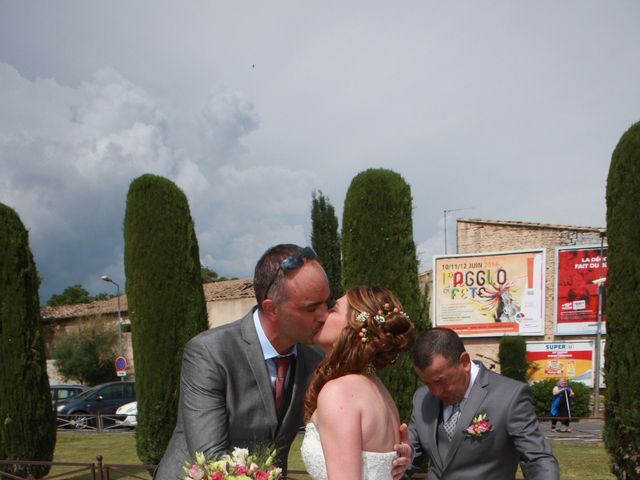 Le mariage de Sébastien et Mélanie à Uchaud, Gard 13