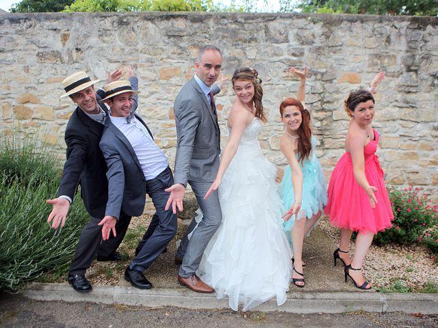 Le mariage de Sébastien et Mélanie à Uchaud, Gard 40