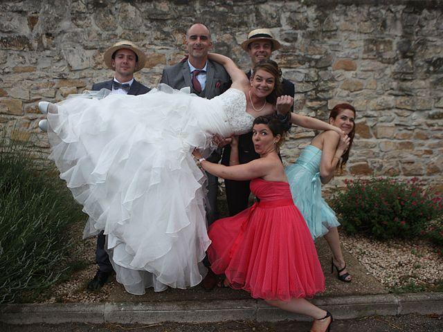 Le mariage de Sébastien et Mélanie à Uchaud, Gard 41