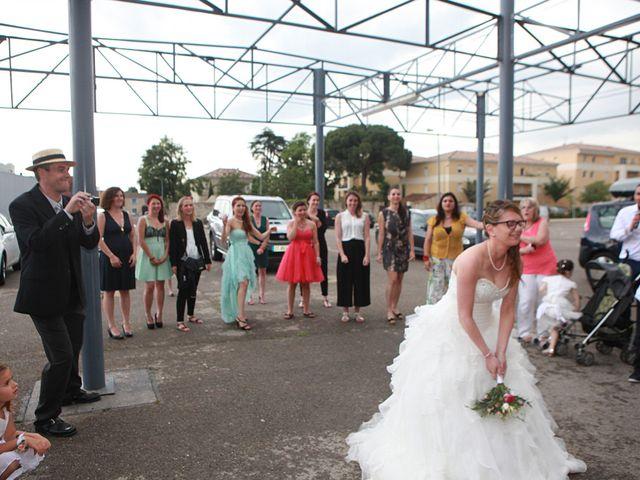 Le mariage de Sébastien et Mélanie à Uchaud, Gard 42