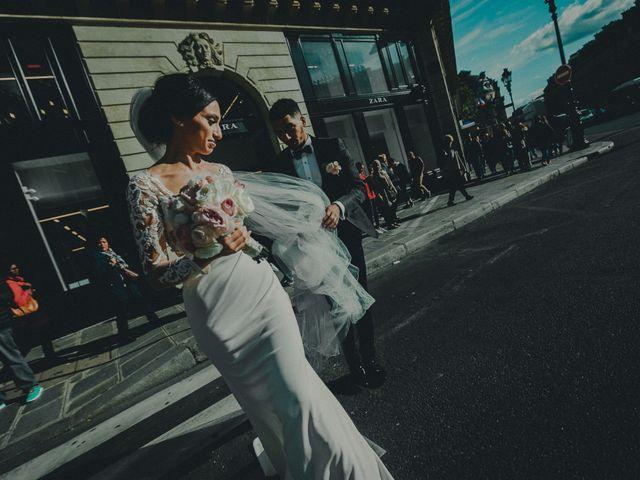Le mariage de Mom et Lisa à Paris, Paris 11