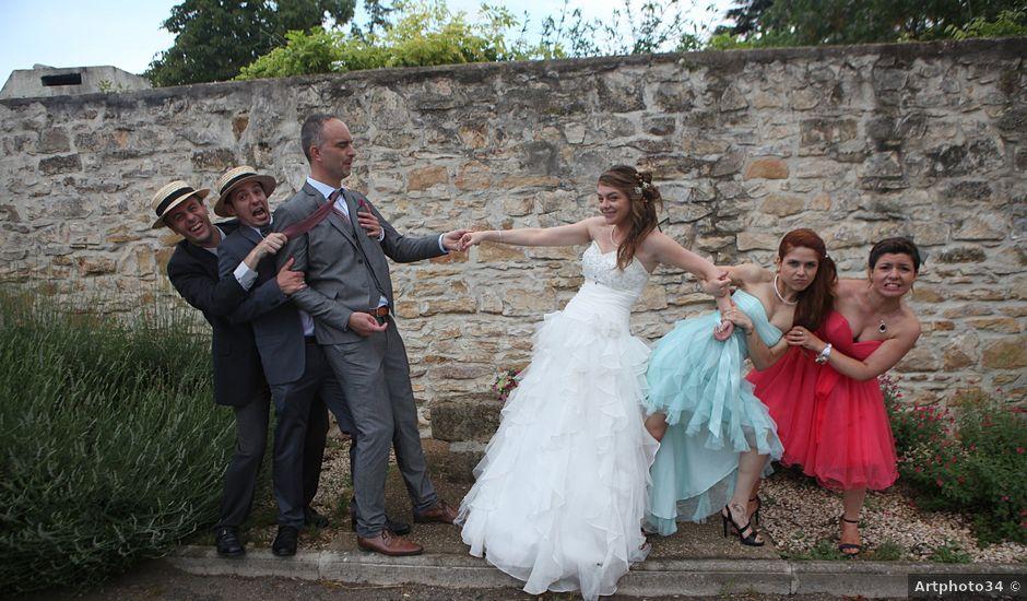 Le mariage de Sébastien et Mélanie à Uchaud, Gard