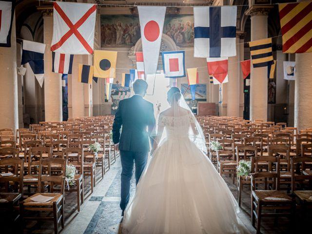 Le mariage de Nicolas et Marie à Trouville-sur-Mer, Calvados 26