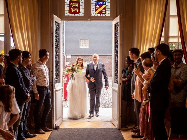 Le mariage de Romain et Mélanie  à Saint-Victor-l'Abbaye, Seine-Maritime 8