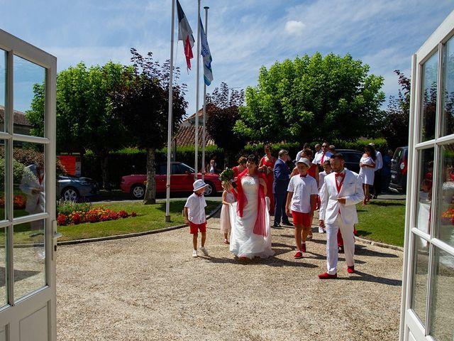 Le mariage de Damien et Kathy à Thénac, Charente Maritime 10