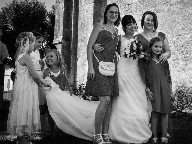 Le mariage de Damien et Kathy à Thénac, Charente Maritime 13